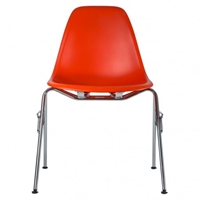 Eames Dss N Stacking Chair Red The Conran Shop