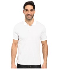 Calvin Klein Short Sleeve Liquid Cotton Stripe Soft White Combo Men's Short Sleeve Knit