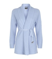 Escada Sonus Thick Cashmere Cardigan Female Blue