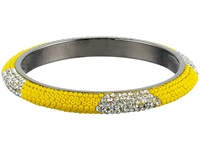Gypsy Soule Bling Mix Stack Bangle Wide Yellow Bracelet