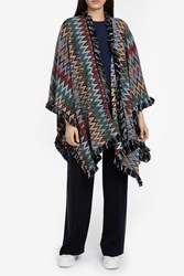 Missoni Women S Zigzag Cape Boutique1 Multi