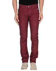 Dog Fox Trousers Casual Trousers Men Maroon
