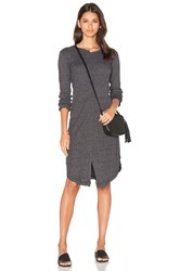 Wilt Shifted Shirt Elbow Sleeve Dress Black