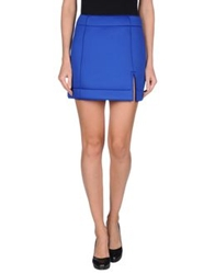 Atto Mini Skirts Bright Blue