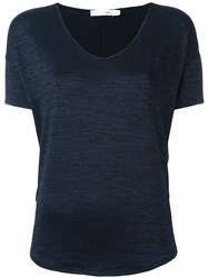 Rag And Bone Jean Relaxed Fit T Shirt Blue