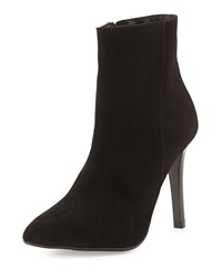 Charles David Dubio Pointy Toe Suede Ankle Boot Black