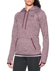 Under Armour Water Resistant Hooded Pullover Maroon