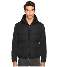 Vince Quilted Down Fill Parka Black