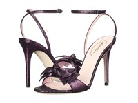 Sarah Jessica Parker Fever Vintage Melanzana Women's Dress Sandals Purple