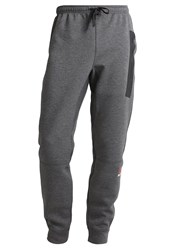 Reebok Tracksuit Bottoms Dark Grey Heather Mottled Dark Grey