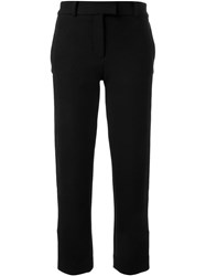 Scanlan Theodore Dense Stretch Tux Trousers Black