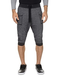 2Xist 2 X Ist Cropped Cargo Pants Black Heather