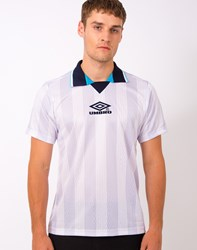 Umbro By Kim Jones Umbro Pro Training E96 Tournament Jaquard T Shirt White