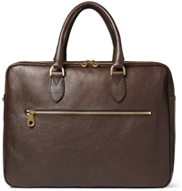 Mulberry Heathcliffe Leather Briefcase Brown