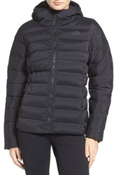 The North Face Women's W Hooded Stretch Down Jacket Tnf Black