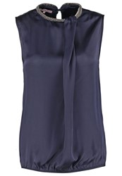 Anna Field Top Navy Dark Blue