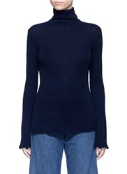 Ag Jeans 'Octa' Turtleneck Sweater Blue