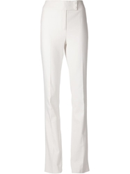 Jason Wu High Waisted Bootcut Trousers White