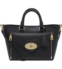 Mulberry Small Willow Tote Black