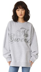 Ashish Swirly No Sweat Sweatshirt Grey