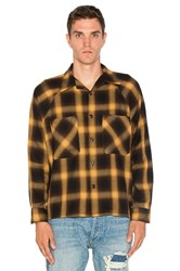 Mr. Completely Raglan Flannel Yellow