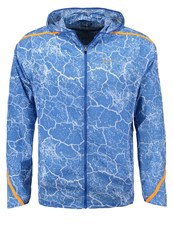 Nike Performance Impossibly Light Sports Jacket Light Photo Blue Vivid Orange Game Royal Reflective Silver