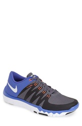 Nike 'Free Trainer 5.0 V6' Training Shoe Men Online Only Grey White Black Violet
