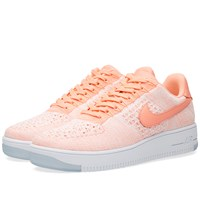 Nike Womens Footwear Nike W Air Force 1 Flyknit Low Pink