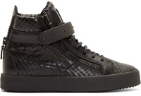 Giuseppe Zanotti Black Diamond London High Tops