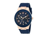 Guess U0571l1 Blue Rose Gold Watches