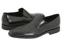 Bruno Magli Raging Black Nappa Leather Men's Slip On Dress Shoes