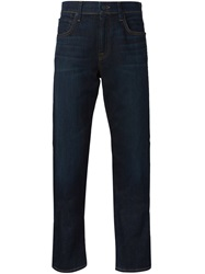 7 For All Mankind 'The Straight' Jeans Blue