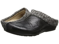 Aetrex Krista Clog Sweater Rim Black Women's Clog Shoes
