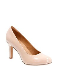 Clarks Heavenly Star Artisan Patent Leather Pumps Nude