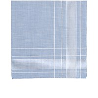 Simonnot Godard Men's Harlan Handkerchief Light Blue