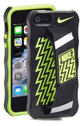 Nike Hand Strap Iphone 5 And 5S Case Black Black Volt