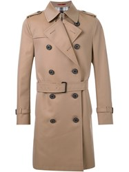 Loveless Midi Trench Coat Brown
