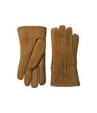 Ugg Sheepskin Smart Gloves Chestnut Extreme Cold Weather Gloves Brown