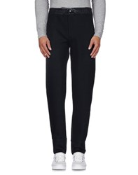Armani Collezioni Trousers Casual Trousers Men Dark Blue