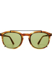 Tod's Tods Metal Framed Sunglasses Brown