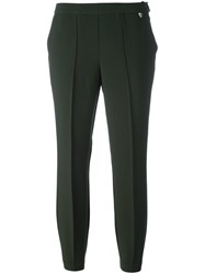 Twin Set Cropped Trousers Green