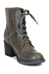 Gc Shoes Power Trip Short Lace Up Combat Boot Green