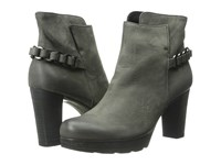 Paul Green Darcy Chain Quartz Nubuck Women's Zip Boots Gray