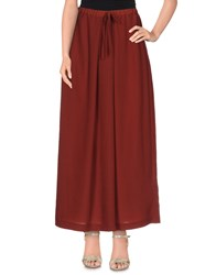 Maison Scotch Skirts Long Skirts Women Maroon