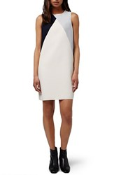 Topshop Women's Colorblock Shift Dress