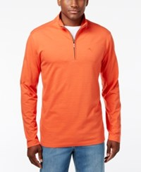Tommy Bahama Men's Shadow Cove Half Zip Sweatshirt A Macy's Exclusive Style Sunset