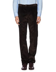 Germano Trousers Casual Trousers Men Dark Brown