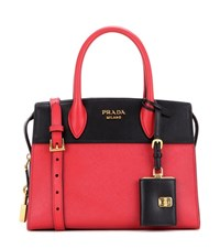 Prada Esplanade Leather Crossbody Bag Black