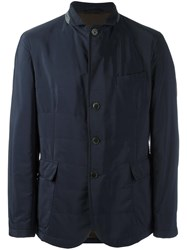 Hackett Flap Pockets Jacket Blue
