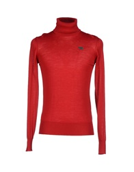 Bikkembergs Turtlenecks Red